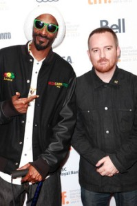 Snoop Lion (left) and English journalist/director, Andy Capper (right) have been active in promoting Dancehall and Reggae through their upcoming film, 'Reincarnated,' an all-Reggae album with the same name and the 'Noisey Jamaica' Dancehall series.