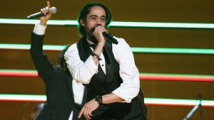 Damian Marley won two awards, including the Bob Marley Entertainer of the Year award at the 2013 edition of IRAWMA, held on May 3. Credits:   www.hollywoodreporter.com