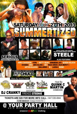 Summertized  - Saturday, July 27, 2013
