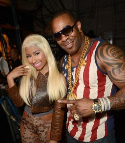 Busta Rhymes (rhgt) and Nicki Minaj (left) recently combined their Caribbean influences on the remix to Rhymes' hit single, 'Twerk It