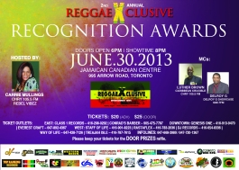ReggaeXclusive Recognition Awards