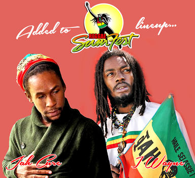 Jah Cure (left) and I-Wayne (right) are the latest stars to be added to this year's Reggae Sumfest lineup.