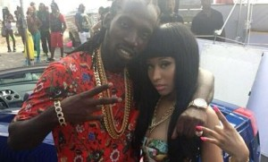 Dancehall superstar, Mavado (left), who will soon be unveiling the video for his single, 'Give It All Me' featuring Nicki Minaj (right), is reportedly set to headline STING 2013