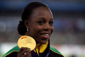 Veronica Campbell-Brown, a multiple Olympic gold medalist and world champion has been cleared to resume competition after receiving a public warning for her failed drug test in May..