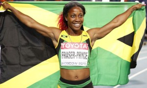 Shelly-Ann Fraser-Pryce will contend for Jamaica's first female IAAF World Athlete of the Year honor in 23 years later this month.