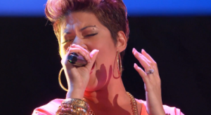 Tessanne Chin once again established herself as a serious contender to win NBC's 'The Voice' with a strong performance to advance to the live show segment of the talent competition