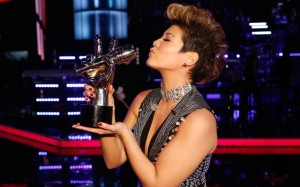 Tessanne Chin is seeing double on the Billboard Hot 100, earning two spots in the chart thanks to her stunning run on the NBC talent show