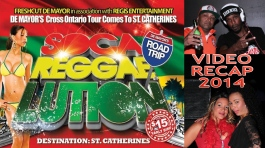 Soca Reggaelution St. Catharines 2014! Maddd!