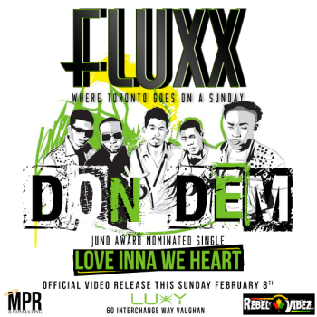 FLUXX Love Inna We Heart