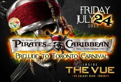 DE MAYOR PRESENTS... PIRATES OF THE CARIBBEAN - JULY 24 at THE VUE