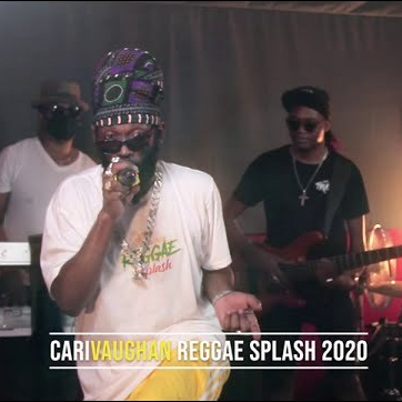 Image of Jah Kettle during his performance at CariVaughan Reggae Splash.